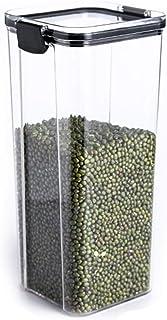 Hermétique alimentaire Conteneurs, pot de rangement transparent Cuisine plastique, qualité alimentaire Boîte de rangement ...
