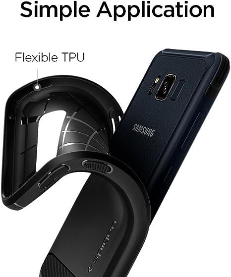 Spigen Rugged Armor Designed for Samsung Galaxy S8 Active Case (2017) - Black