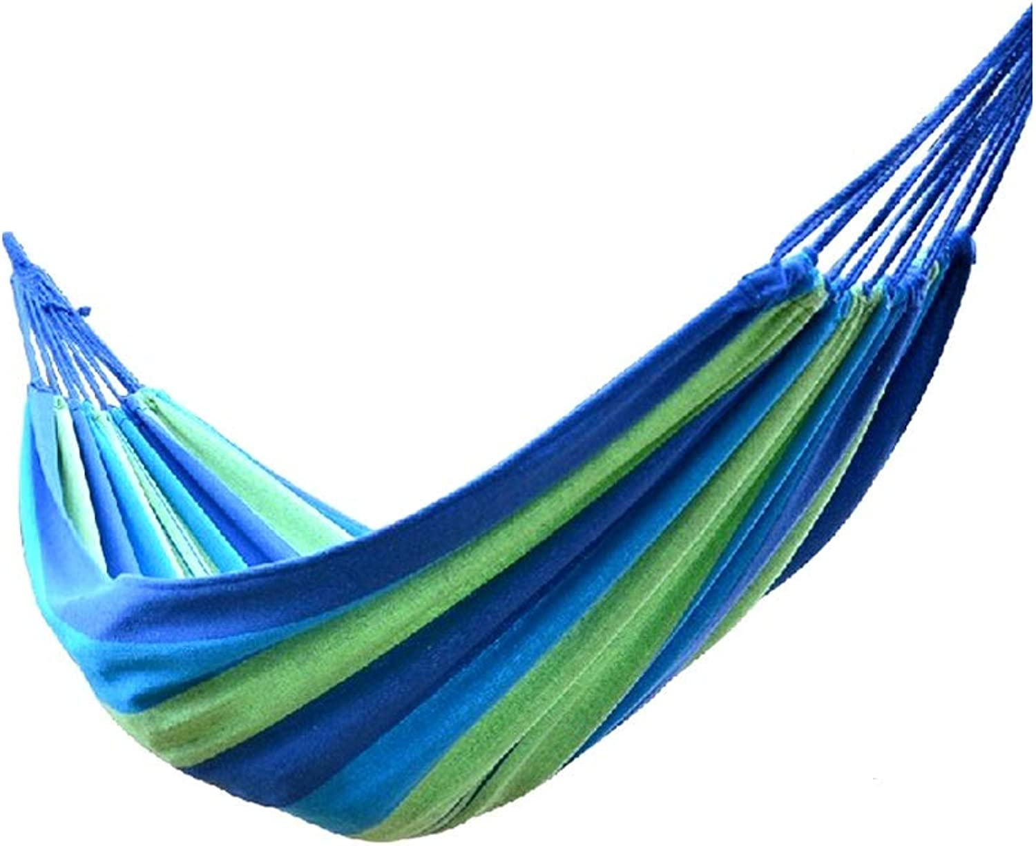 Guyuexuan Double Camping Hammocks  Lightweight Nylon Portable Hammock, Best Parachute Hammock for Backpacking, Camping, Hiking, Beach with Free Heavy Duty Carabiner Clips The Latest Style, Durable
