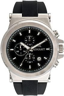 Monaco Cronograph Watches | 48 MM Men's Analog Watch | Silicone Strap