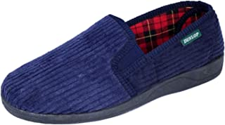 Men's Famous Dunlop BYRON Corduroy Slippers