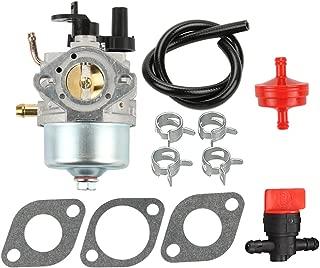 Harbot 801396 801233/801255 Carburetor + Fuel Filter Line Valve for Briggs & Stratton 084132 084133 084232 084233 084332 Engine Snowblower