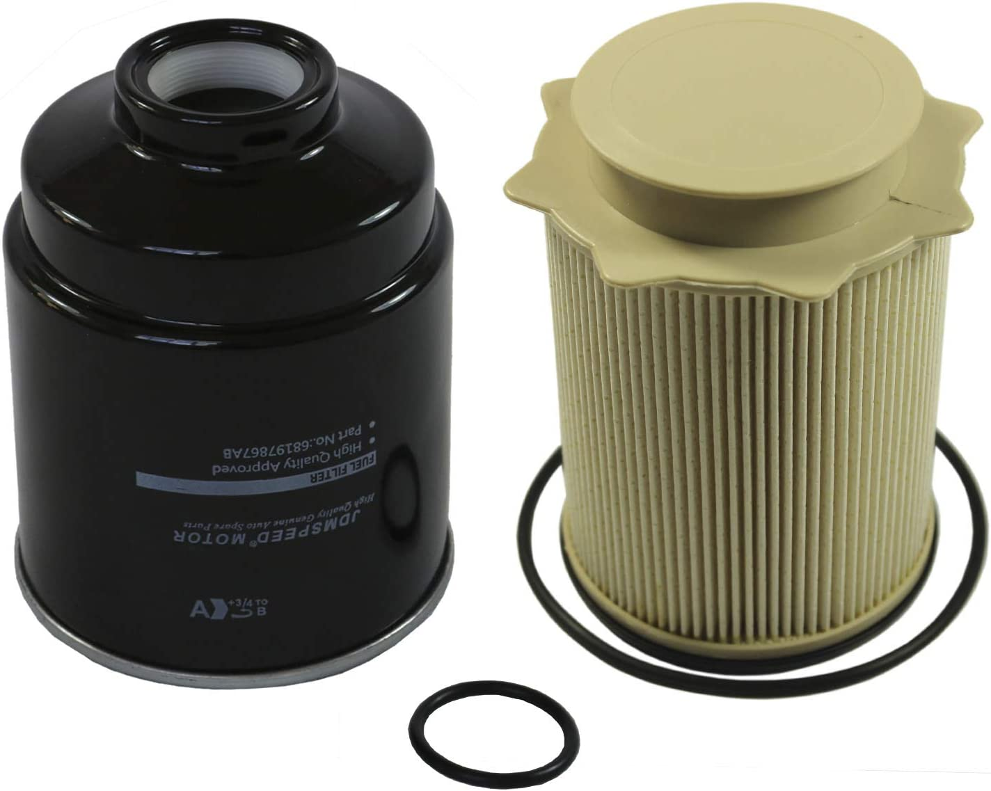 JDMSPEED New Diesel Fuel Directly managed store Filter Kit Sales results No. 1 Dodge Ram 6. Replacement For