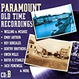 Paramount Old Time Recordings, CD B...