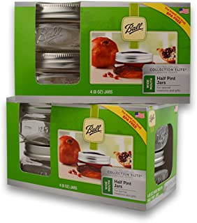 Best ball half pint wide mouth canning jars Reviews