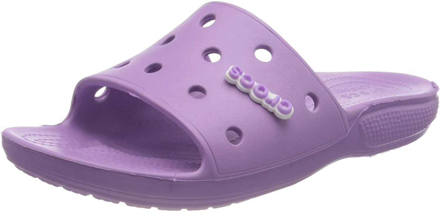 Crocs Men's and Women's Classic Slide Sandals | Slip On Shoes | Water Shoes