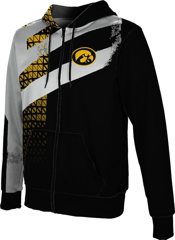 University of Iowa Men's Zipper School Spirit Sale Japan's largest assortment special price Hoodie Sweatshirt