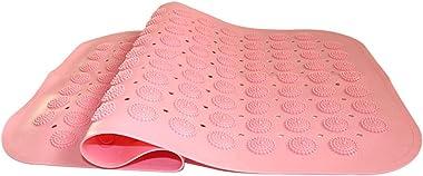 Alfombra De Baño De Succión Fuerte Grande Alfombra De Baño Antideslizante Alfombra De Ducha De PVC Partículas De Masaje Almoh