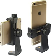 iPhone Tripod Mount Adapter Universal Cell Phone Tripod Mount, Vertical Horizontal Adjustable Clamp 2.3~4.0