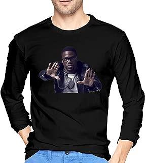 PhauaGt Kevin Hart Comfortable Men's Long Sleeve T-Shirts Black