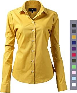 Best yellow blouse long sleeve Reviews