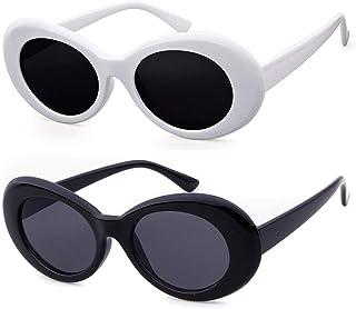 GIFIORE Clout Goggles Sunglasses Women Men White Sunglasses Retro Kurt Cobain 60s Glasses