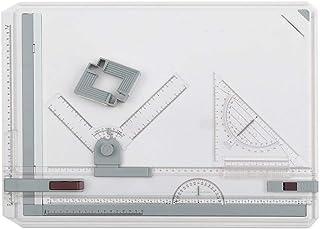 AllRight A3 Planche à Dessin Drawing Board Table à Dessin avec Mouvement Parallele Mécanique Angle Réglable Architecture I...