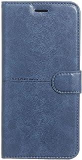 جراب قلاب من الجلد لهاتف Infinix Note 7 من Kaiyue - أزرق