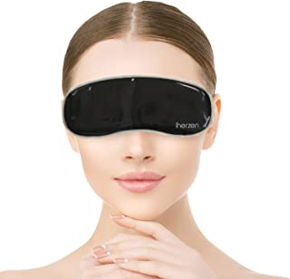 Inerzen Natural Clay Gel Eye Mask Pad - Hot and Cold Reusable - Relief for Dry Eyes, Bruises, Puffy Swollen...