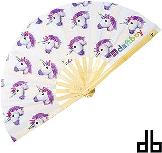 Daftboy Unicorn Emoji Fan