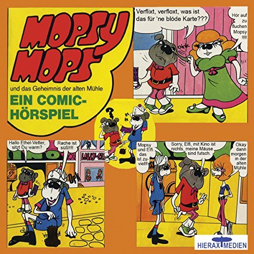 Mopsy Mops und das Geheimnis der alten Mühle     Mopsy Mops 2              Autor:                                                                                                                                 Konrad Halver                               Sprecher:                                                                                                                                 Konrad Halver,                                                                                        Hans Paetsch,                                                                                        Katharina Brauren                      Spieldauer: 37 Min.     1 Bewertung     Gesamt 4,0