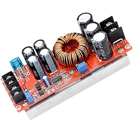 1200W 20A DC Converter Boost Car Step-up Power Supply Module 8-60V to 12-83V NEW