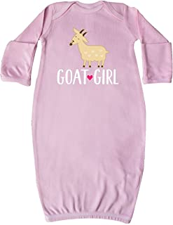 Goat Girl Farm Animal Newborn Layette
