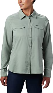 Columbia Women's Silver Ridge Lite Plaid Long Sleeve Wicking Shirt