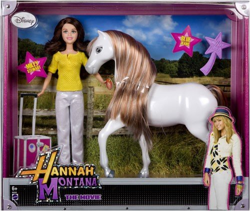 Mattel - Hannah Montana N8048-0 - Miley and Pferd Blue Jeans