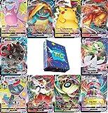 3 Pokemon Vmax Cards Bundle - Rare Pokemon Cards -Rare Pokemon Cards Bundle - Pokemon Cards Vmax - Rare Vmax Pokemon Cards + GoodGuyTcg Deck Box and Sleeves - NO DUPLICATES Ever