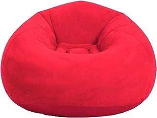 Tongdejing Puf inflable con forma de puf plegable, muy suave, para casa, salón, dormitorio, decoración de mascotas
