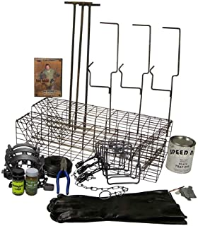 F&T Fur Harvester's Trading Post F&T Muskrat Trapping Starter Kit Bundle