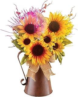 Best rustic sunflower arrangements Reviews