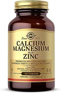 Solgar Calcio y Magnesio con Zinc Comprimidos - Envase