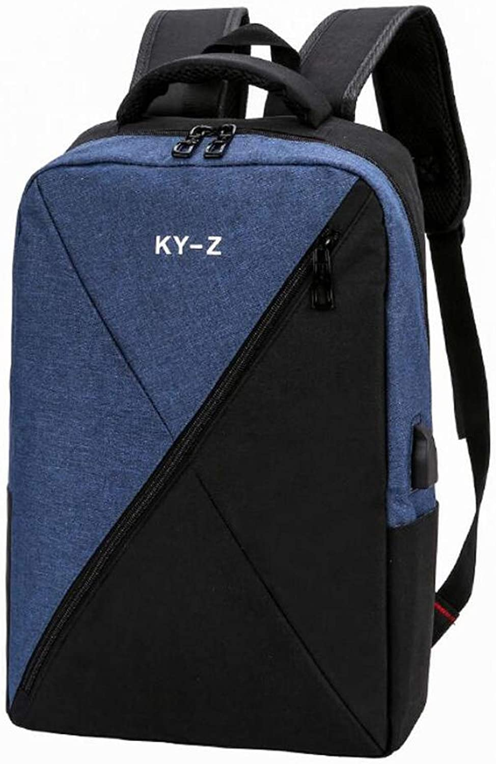 ZJYSM Laptop Backpack, Work Bag for Men and Women, Suitable for 15.6inch Laptop, with shoes Cabinet, External USB Charging Port, Waterproof, 4 colors Optional Backpack