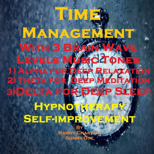 Time Management with Three Brainwave Music Recordings audiobook cover art
