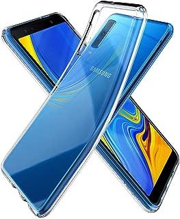 Spigen Liquid Crystal Designed for Galaxy A7 Case (2018) - Crystal Clear