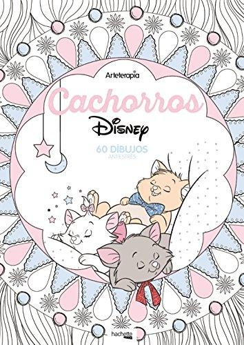 Arteterapia Cachorros Disney (Hachette Heroes - Disney - Arteterapia)