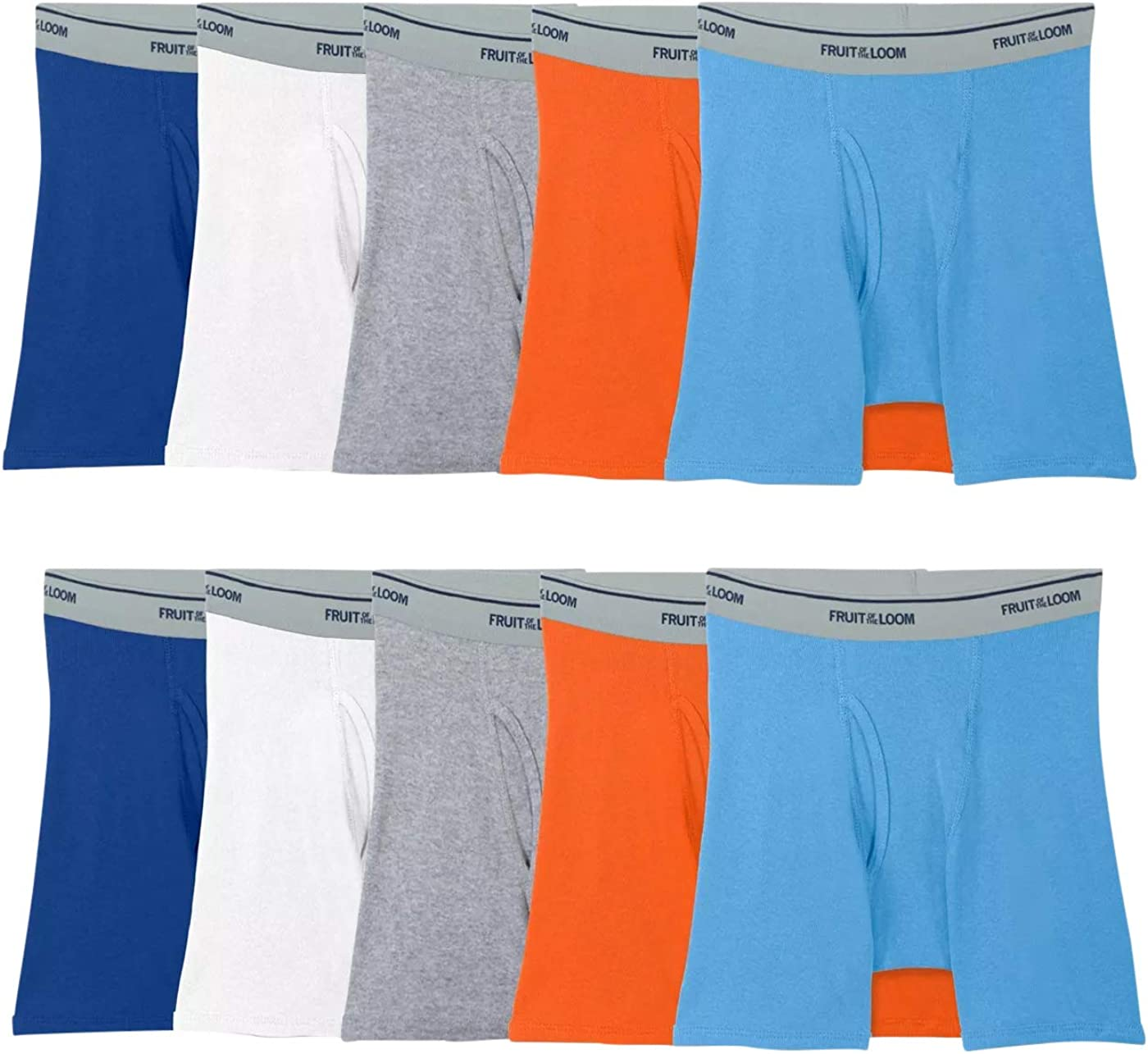 Fruit of the Loom Boys Max 54% OFF Cotton Brief Complete Free Shipping Boxer Underwear