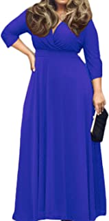 plus size gray maxi dresses