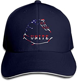 LGBT Americans Are Always United Snapback Sandwich Baseball Unisex Hat Navy