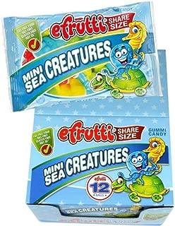 efrutti Share Size Mini Sea Creatures Gummi Candy, 1.4 Ounce Bags - 12 Bags