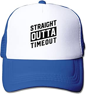 Straight Outta Timeout Men's Adjustable Mesh Hunting Cap Hat