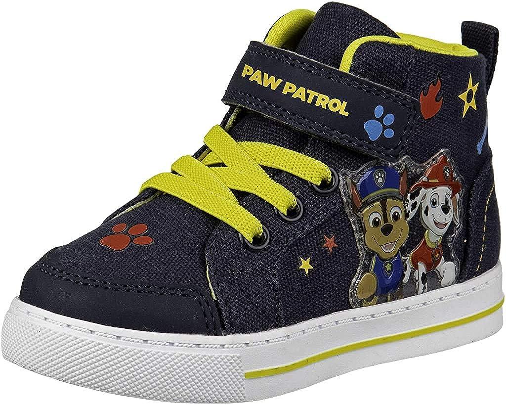 Paw Patrol Triple Strap Hi Top Trainers