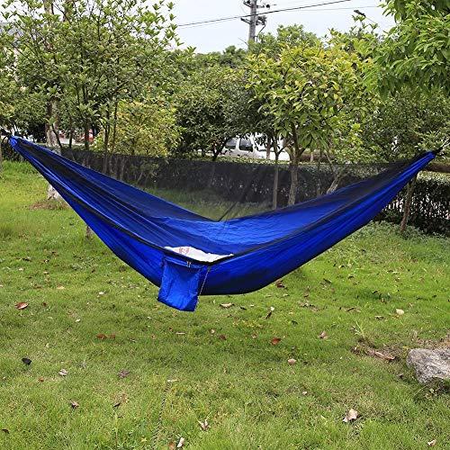 FanCheng Amaca con zanzariera e borsa per il trasporto, doppio hommock, Suport 229 x 140 cm, per campeggio, escursionismo, spiaggia, cortile.