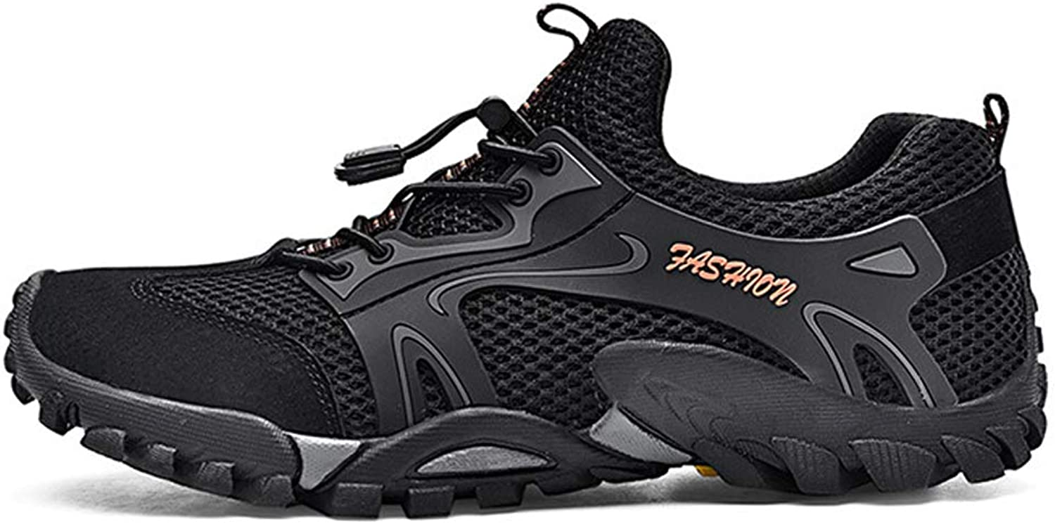 Four Seasons Hiking shoes Leather Breathable Casual shoes Outdoor Walking shoes Breathable