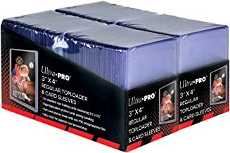 "Ultra Pro 3"" x 4"" Trading Card Toploader & Card Sleeve Bundle (200 ct.)"