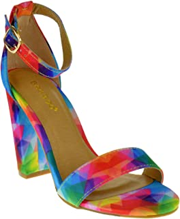 5bd8cbb944 Amazon.com: Bamboo - Heeled Sandals / Sandals: Clothing, Shoes & Jewelry