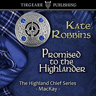 Promised to the Highlander audiobook cover art