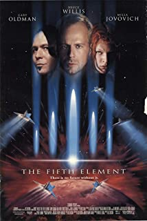 fifth element original movie poster