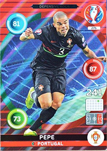 carte PANINI EURO 2016 #275 Pepe
