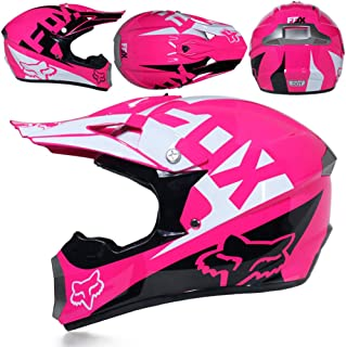 10245b6403 CFYBAO Moto Fuera de Carretera Casco Regalo Gafas máscara Guantes Motocross Racing  Casco Completo de la