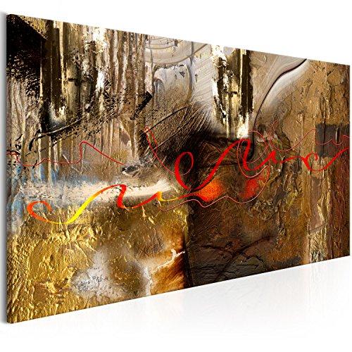 murando Quadro Astratto 70x35 cm 1 pezzo Stampa su tela in TNT XXL Immagini moderni Murale Fotografia Grafica Decorazione da parete 5 pezzi colorato come dipinto a-A-0321-b-a