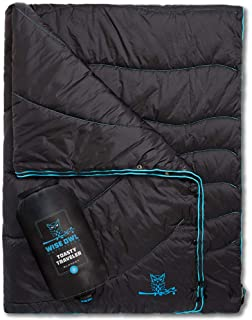 """Wise Owl Outfitters Camping Blanket - Packable Compact Lightweight Toasty Traveler"""" for Outdoor Camp Backpacking Hiking an..."""